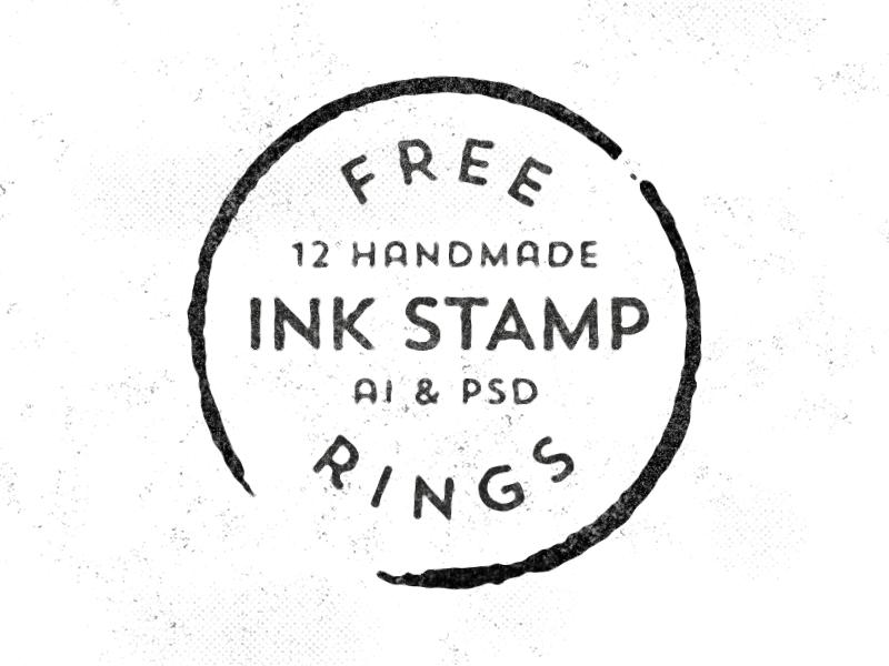 12 Free Handmade Stamp Rings Design Ui Ux